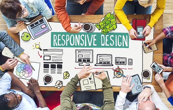 Diverse People Working and Responsive De