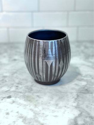 Handle-less Mug, Moonlight, 14oz