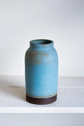 Jar Vase, New Light Blue Matte