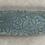 Thumbnail: Long Textured Tray, blue velvet