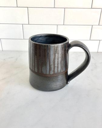 Lg Moonlight Mug, Striped