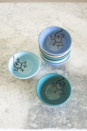 Tiny Ice Cream Bowl, Ingrid Pattern (Choose Color)