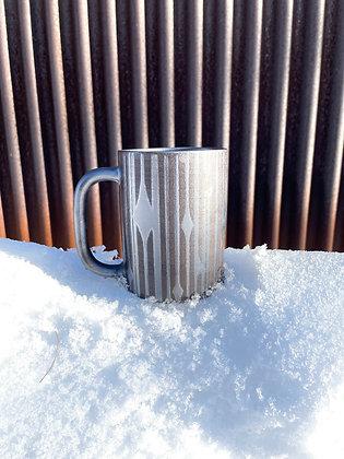 10oz Diner Mug - Moonlight Silver