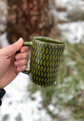 Diner Mug - Moss Green