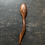 "Thumbnail: Med 10"" Handmade Walnut Spoon, one-of-a-kind"