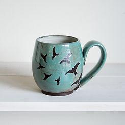 FLight speckled turquoise Mug-2.jpg