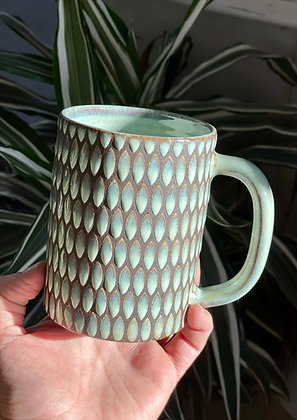 10oz Diner Mug - Aqua Mint