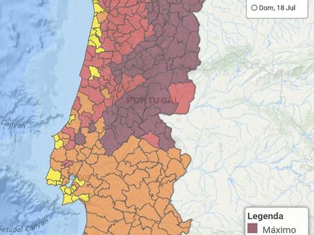 Protejam-se: Onda de calor em Portugal.