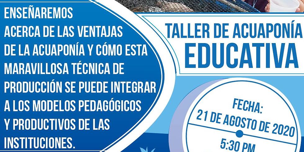 Taller Acuaponía Educativa