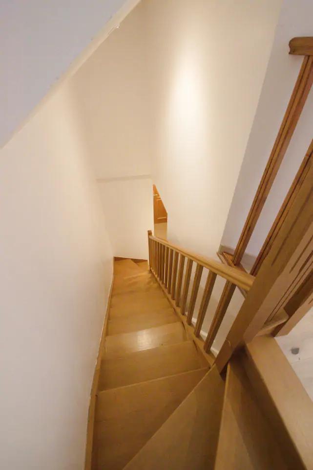 Escaliers location de vacances Savoie