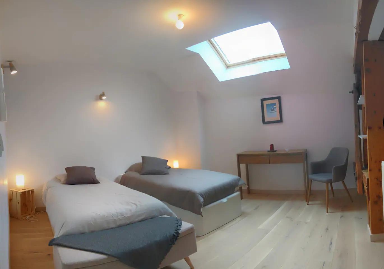 Chambre lits simples Galloux Goubert