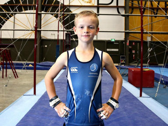 Meet the young athlete making his mark on the Aussie gymnastics scene