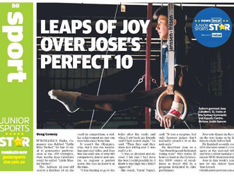 Ten for Jose at Aus Champs