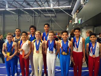 NSW HPC Gymnasts Impress at the NSW Senior State Championships