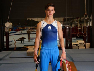 Gymnast Gabriel Swan-Mclean aims for Commonwealth Games selection