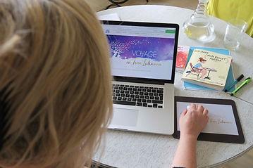 soins énergétiques & consultations individuelles via  skype Vanessa Haté Voyage en Terre Intérieure