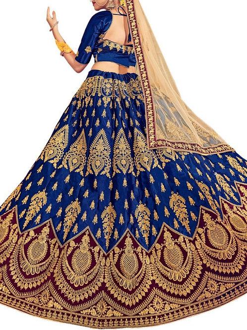 Lovely Blue Lehenga Choli Online Shopping Low Price