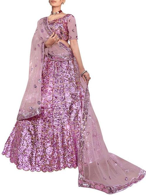 Delight Lilac Chaniya Choli Online