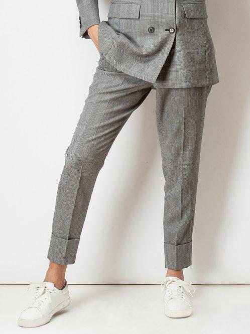 Glen Plaid Trousers