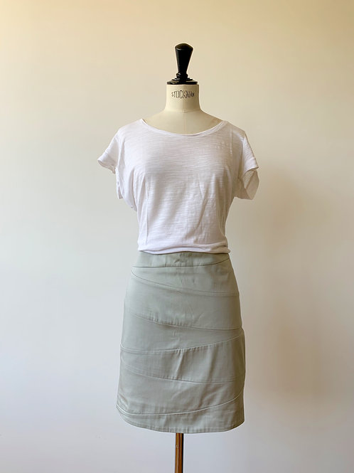 Asymmetrical - Pieced Pencil Skirt