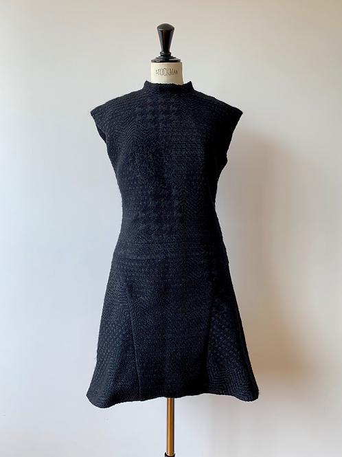 Jacquard Short Dress