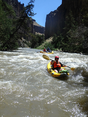 Wild and Scenic River Rafting Fun