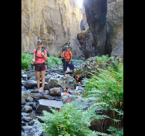 Owyhee Canyonlands Hiking and Canyoneering