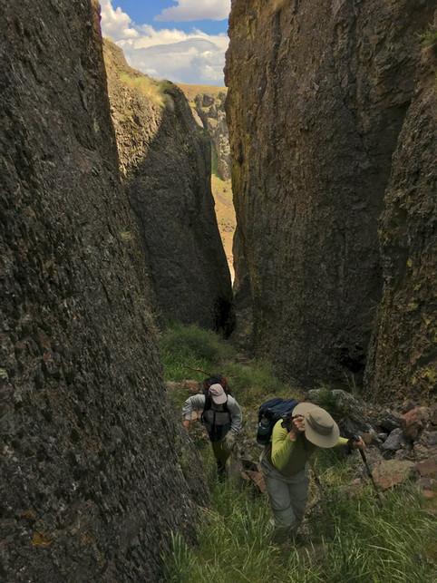Owyhee Wilderness Adventure Canyoneering