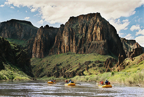Owyhee Canyonlands Hiking and Canyoneering Wild and Scenic River