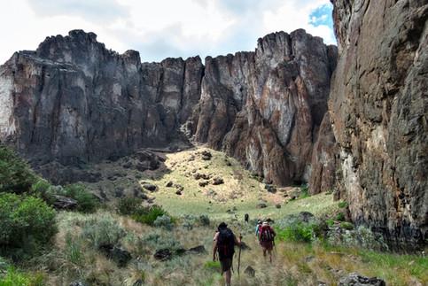 Owyhee, Jarbidge, Bruneau Canyonlands Hiking Adventure & Canyoneering