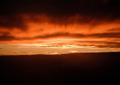 Beautiful Owyhee Wilderness Sunset