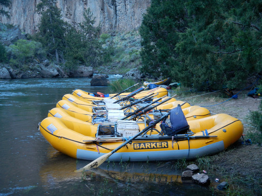 Whitewater River Rafting Boats Solitude