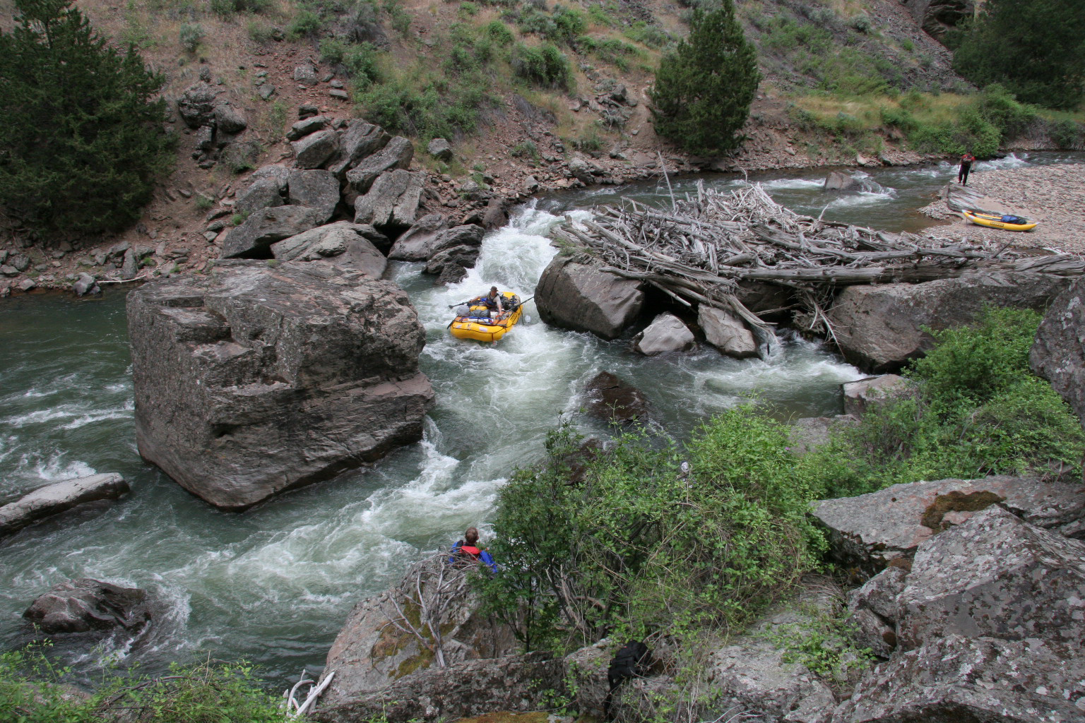 Sevy Falls Jarbidge Whitewater River Rafting