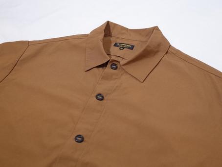 AVONTADE(アボンタージ)Gardener Shirt Jacket -40/2 Hard Twist Yarn Oxford-
