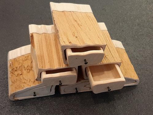 Holzschatulle 6er