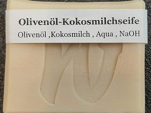 Olivenöl-Kokosmilchseife