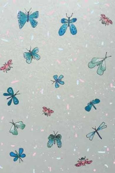 POSTKARTE Schmetterling