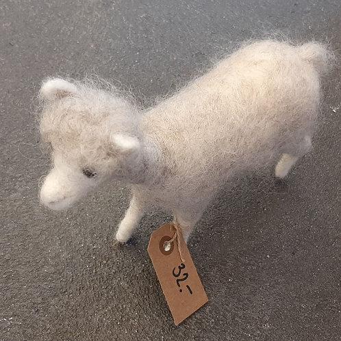 Alpaca aus Filz