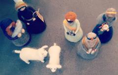 Krippenfiguren aus FILZ @ DABALOU