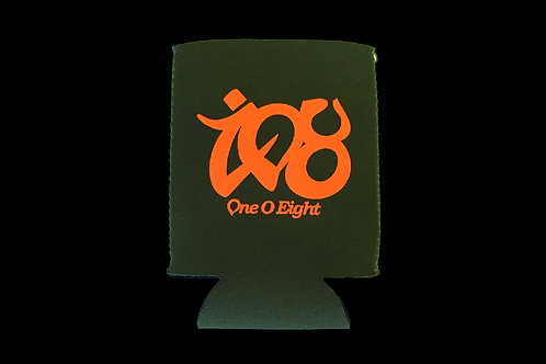 108 -One O Eight- KOOZIE 【khaki × orange】