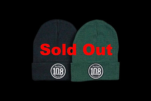 108 -One O Eight-  knit cap