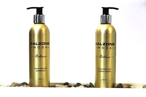 Argan Enriched Shampoo & Conditioner (set)- 250ml