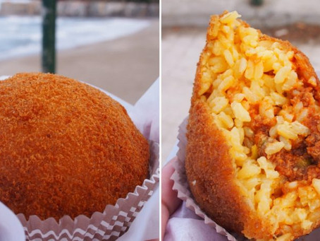 Street Food in Palermo,Sicily Capital city