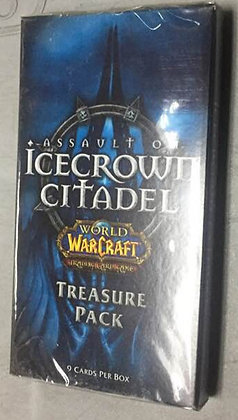 World of Warcraft TCG Assault on Icecrown Citadel Treasure Pack