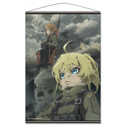 """The Saga of Tanya the Evil The Movie"" B2 Tapestry B Battlefield"