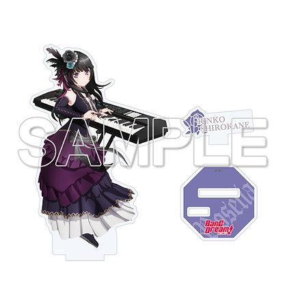 """BanG Dream! 3rd Season"" Roselia Acrylic Figure Ver. Shirokane Rinko"