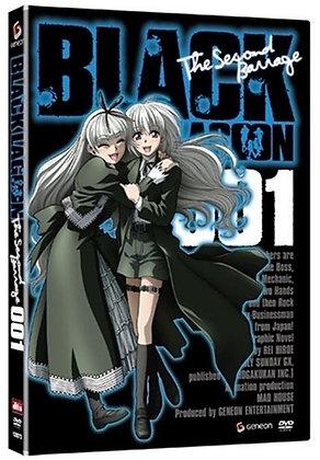 Black Lagoon: The Second Barrage, Vol. 1-3 DVD