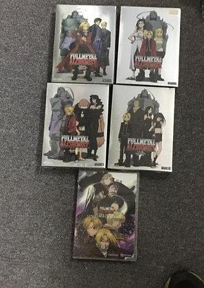 Fullmetal Alchemist Full Series + Movie DVD