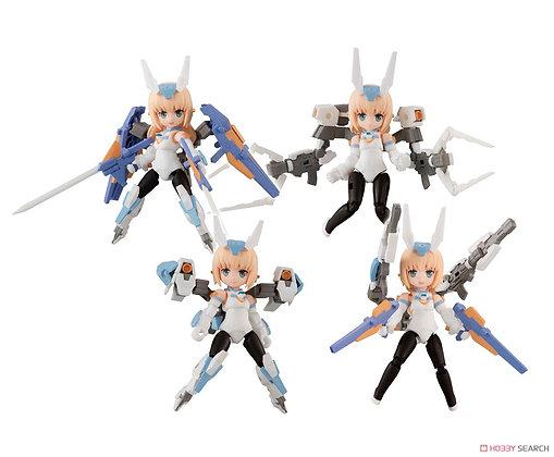 Desktop Army Frame Arms Girl KT-240 f Baselard (Set of 4) (PVC Figure)