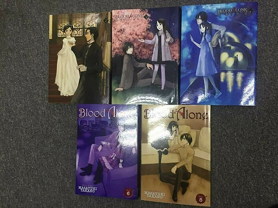 BLOOD ALONE GN VOL  Vol. 2,3,4,5,6  Manga  SEVEN SEAS ENTERTAINMENT LLC